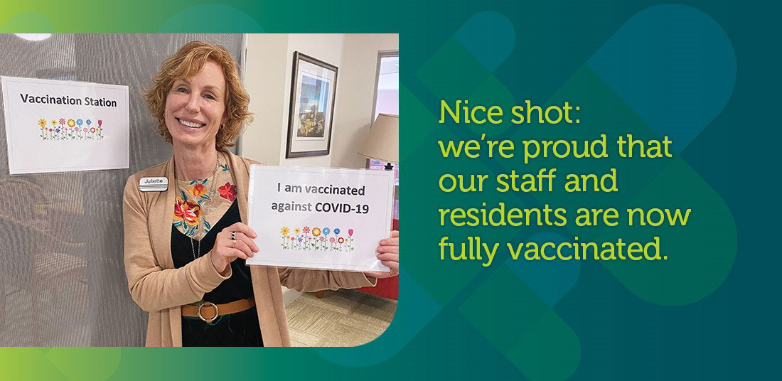 HBH staff & residents are now fully vaccinated